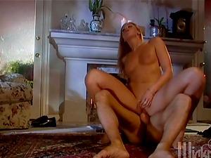 Beautiful Lauren Phoenix gets fucked prettily on a floor