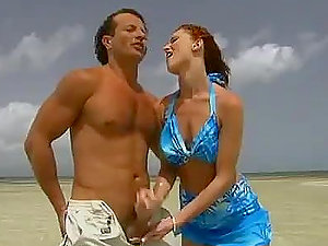 Ginger-haired Donna MArie Gets Fucked in the Shore and Ass fucking Romp on a Boat
