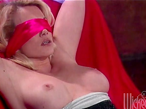Awesome blondes Kelsey Heart and Missy get fucked hard by a few studs