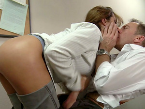 Stud Xxx Pounds His Assistant in the Office