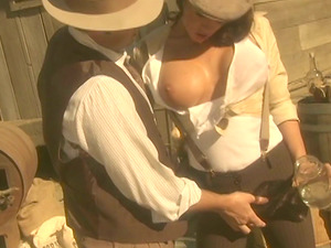 Retro Gonzo Vid of a Mobster Banging a Ultra-cutie