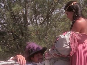 Mikayla Mendez has nice hookup in XVIII century style pornography clip