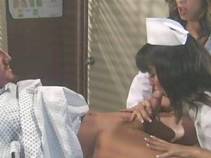 Carmen Hart and Kirsten Price, So Fucking Hot! Kinky Nymphomaniac Nurses Fuck the Patient FFM Roleplay Threeway!