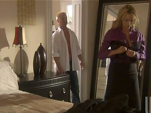 Sexy And Elegant Blonde Has Some Dick Gobbling Joy After Work