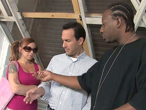 Scarlett Ache Wants her Family to See Her Fuck that Black Man off the Street!