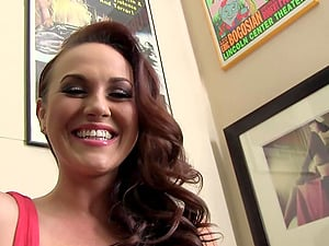 Black on Ginger-haired, Dogfart behind the Scenes with HOT SOLO MODEL!