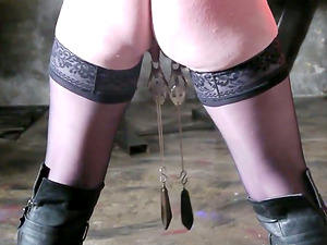This Domination & submission movie has some real hot spanking and torment act going on