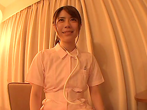 Marvelous Japanese Nurse Gets Drilled Doggystyle In Point of view