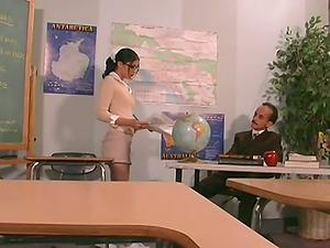 Nubile In Mini Mini-skirt Fucking Lovely With Her Educator