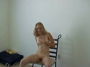Delightful cowgirl with diminutive tits providing her horny stud blowage in point of view shoot