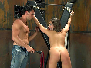 Horny Master Tantalizes And Plays With His Nasty Gimps