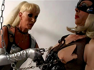 Horny Mistress Gets Rough On Her Gimp In This Hot Domination & submission Session