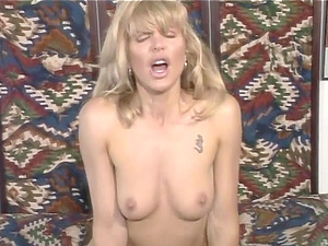Blonde cougars have joy in a antique lesbo scene