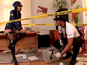 Sexy Police Officer Fucked Xxx style