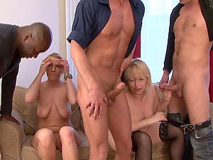 Sweet Cat, Diamond Emma And Samantha Milky In A Hot Interracial Fuck Orgy