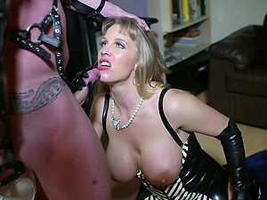 Rebecca Moore abases Peter Oh Toole and has fuck-a-thon with him