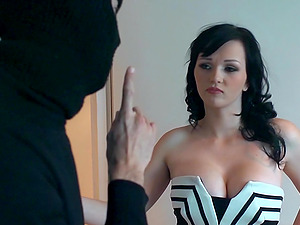 Pretty Youthfull Sex industry star With Big Beautiful Tits Sucking A Stranger's Massive Man rod