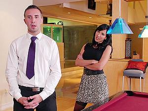 Hot And Wild Pornographic stars Fuck On The Billiard Table