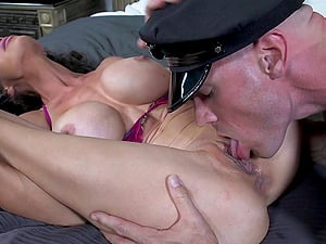Desirable Cougar With Faux Tits Liking Her Ass-fuck Being Smashed