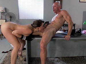 Chanel Preston loves rough rear pounding with Johnny Sins