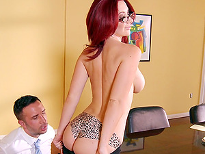 Red-haired Huge-chested Chick Jayden Jaymes Gets Penetrated Xxx By Keiran Lee