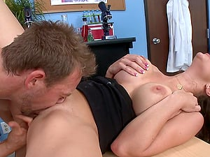 Hot Caboose School Instructos Fuck Xxx Doggystyle In The Office
