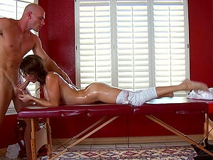 Hard-core Doggystyle Pounding After A Opening up Workout And Oiled Rubdown