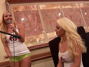 Aaliyah Love and Britney Amber go girly-girl in reality movie