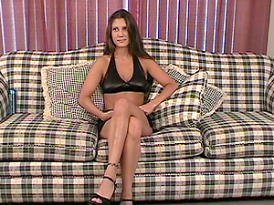 Classy Solo Model With Natural Tits Rails Playthings In Reality