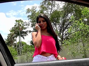 Intense hook-up with the beautiful Latina Soffie