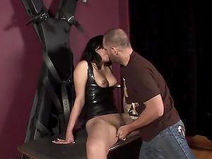 Hot bootie Agatha Crimson railing Nacho Vidal's monster dick gonzo doggystyle