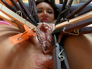 Sadism & masochism Compilations of Raunchy Honies With Vulva Forceps