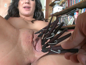 Maiden Gets Tormented By Having Her Vagina Pegged In A Bondage & discipline Pornography