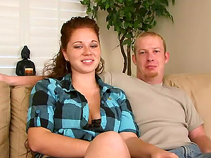 Magnificent Inexperienced Dark-haired Goes Indeed Xxx Over A Couch