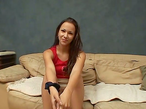 First-timer hoe leaps on a dick after ardent oral lovemaking in 69 position