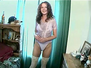 Sexy Cowgirl In Undergarments Gets Deep Anal invasion Missionary In Close Up