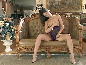Gorgeous Lady In High High-heeled shoes Groaning While Being Screwed In An Interracial Hook-up