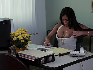 Enticing pornography cutie Selena Rose likes to get ravaged hard and doggystyle
