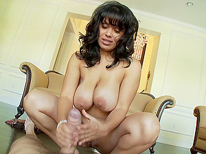 Big-titted dark-haired bombshell Sienna West gets plowed in a hard-core fuck activity