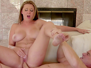 Awesome bang-out scene with well-endowed blonde Brooke Wylde
