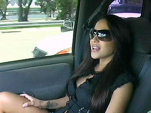 Gorgeous Jenaveve has a hump with a tall stud with big man sausage