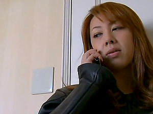 Sweet japanese girly-girl beauties gobble and stimulate their horny honeypots