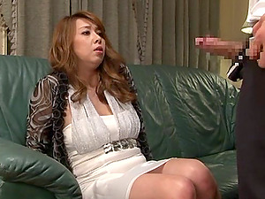 Adorable mummy Yumi Kazama likes thick man sausage in her crevices