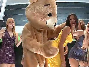 Dancing Teddy Fucks Latina Kayla Carrera in Hot Bachelorette Soiree