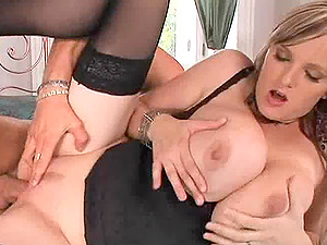 Chubby pornography starlet with massive breasts and a gorgeous shaven twat luving gonzo hook-up