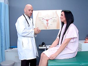 Insane nurse with a excellent assets getting her vulva tongued and finger-tickled