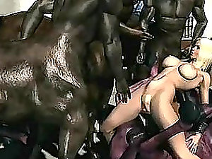 Blonde Takes A Virtual Drubbing From Minotaurs