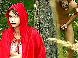 Crimson Railing Rubber hood And The Big Bad Boner.
