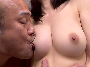 Panty sniffer gets to fuck the mouth of this Japanese stunner