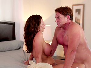 Pornographic stars fuck and talk about the scene after orgasm